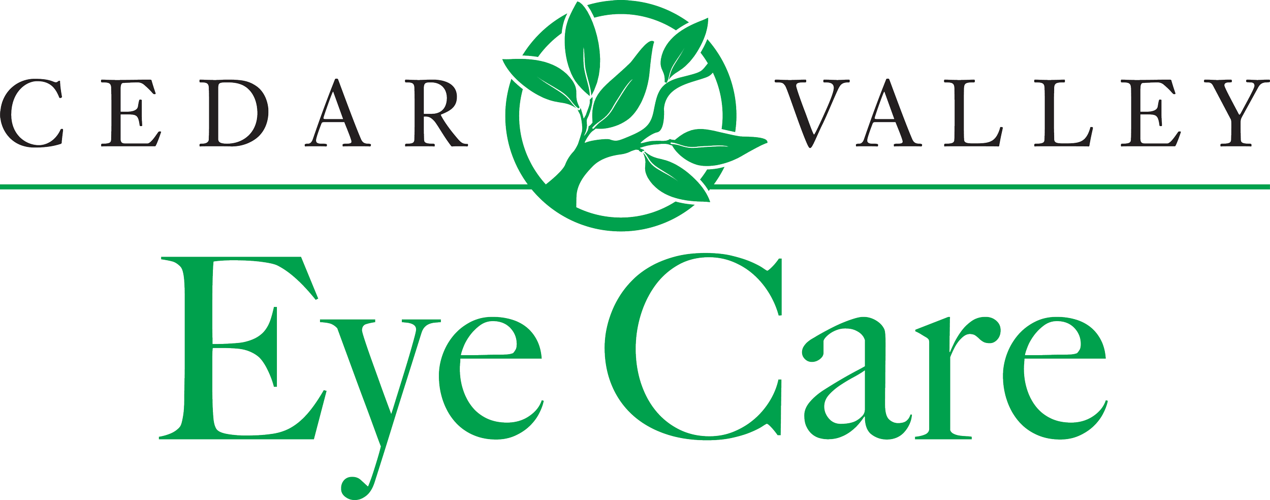 Cedar Valley Eye Care Logo